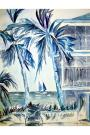 "SOLD - ""Am i blue"" to Judy Hadley in Key West"